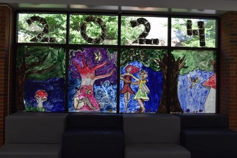 OHS Window Painting Photo Gallery